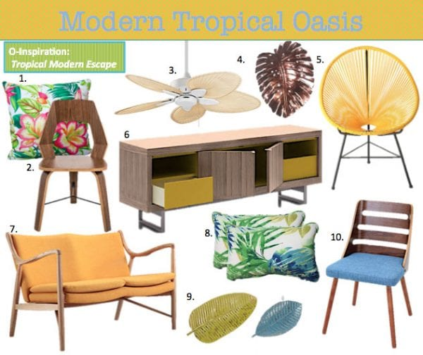 modern tropical decor ideas - Tropical Decor