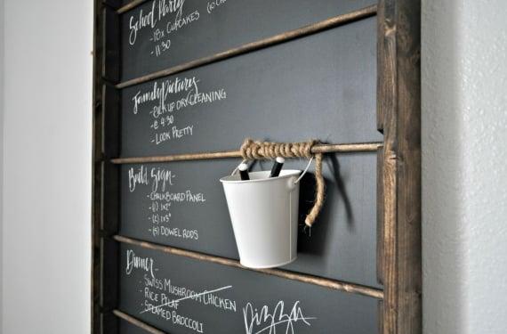 Wall Mount Chalkboard