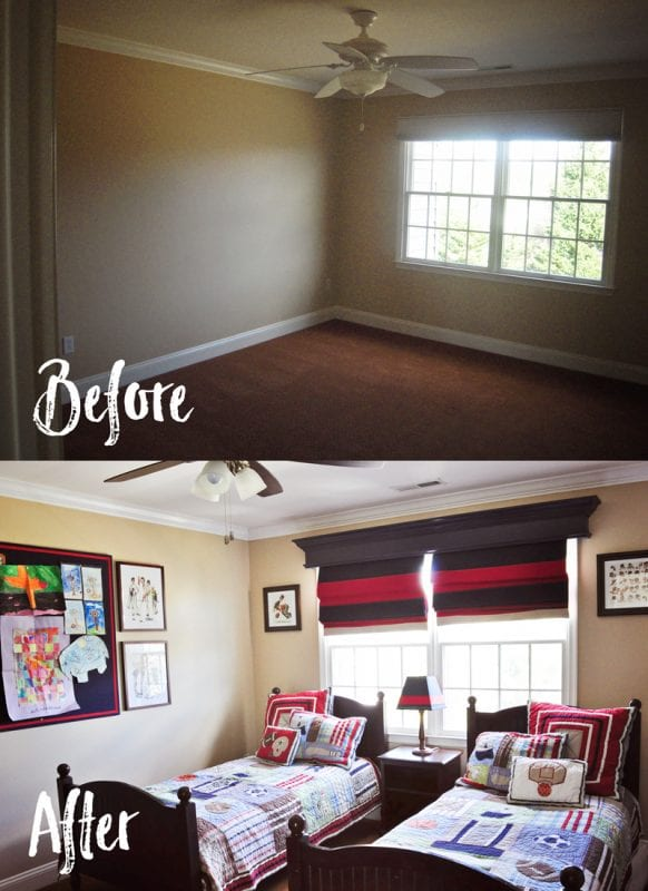 DIY Wood Window Cornice | detailed step-by-step photo tutorial to build a window cornice, on Remodelaholic.com