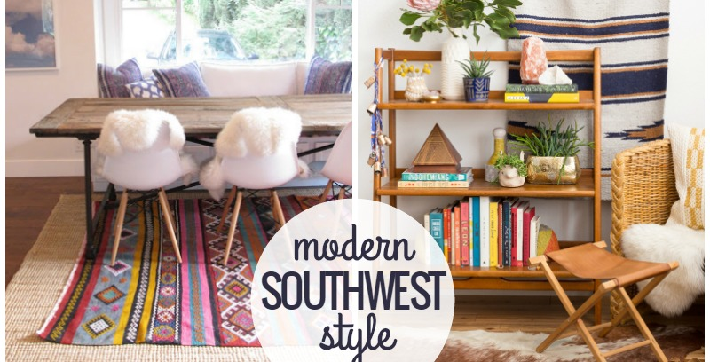 Remodelaholic Inspiration File Wild Modern Southwestern Style