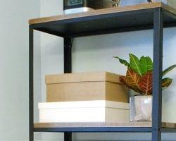 feature ikea hack industrial shelf