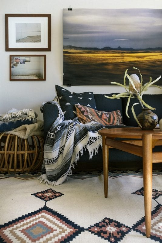 midcentury southerwestern style via Nest Together