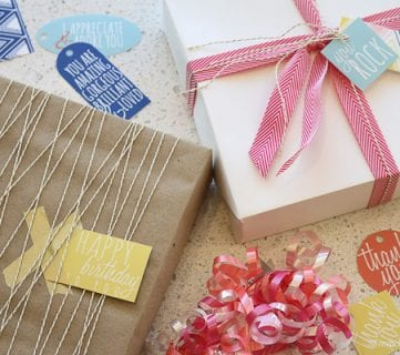 Birthday and Gift Tags