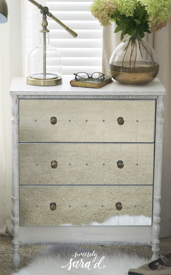 Ikea Rast Makeover With Mirrored Drawers And Turned Legs Sincerely Sara D On Remodelaholic