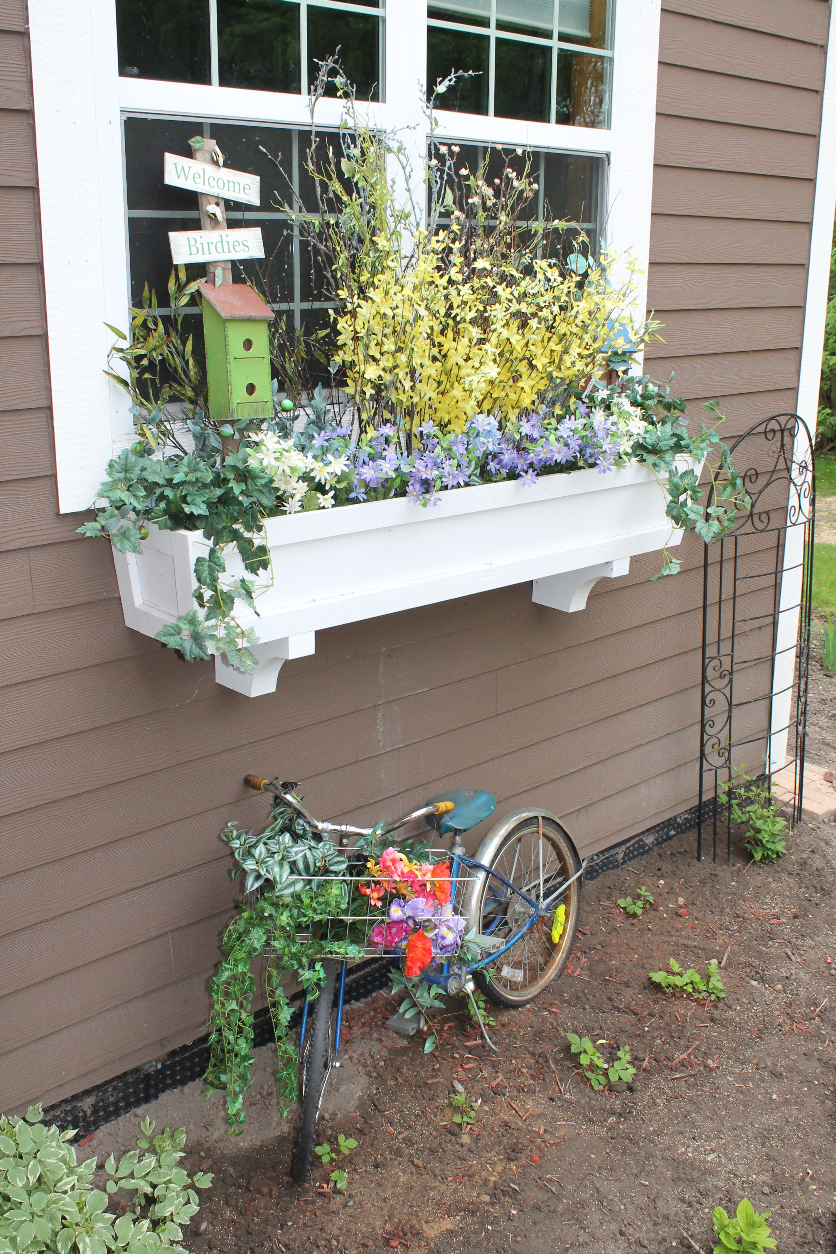 Uncategorized Window Box Planter remodelaholic how to build a window box planter in 5 steps diy tutorial