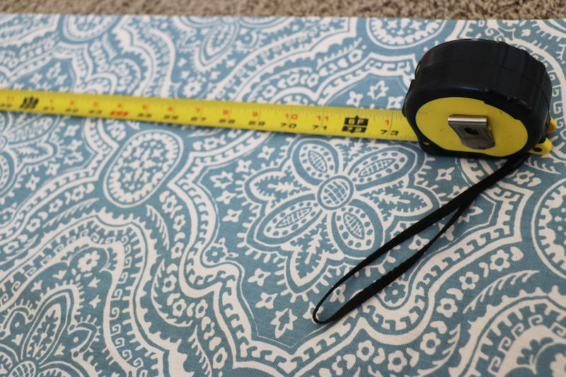 Measuring for Fabric Wall