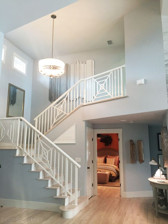 How To Choose A Paint Color remodelaholic | choosing paint colors that work with wood trim and