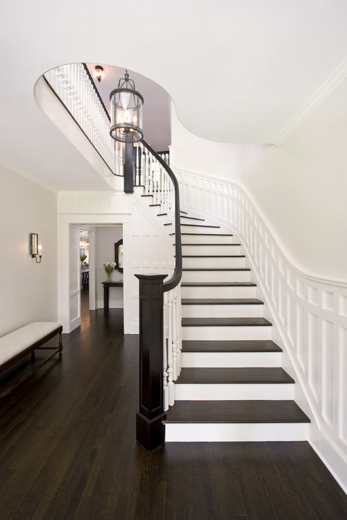 Choosing paint colors that work with wood trim and floors for Benjamin moore floor paint