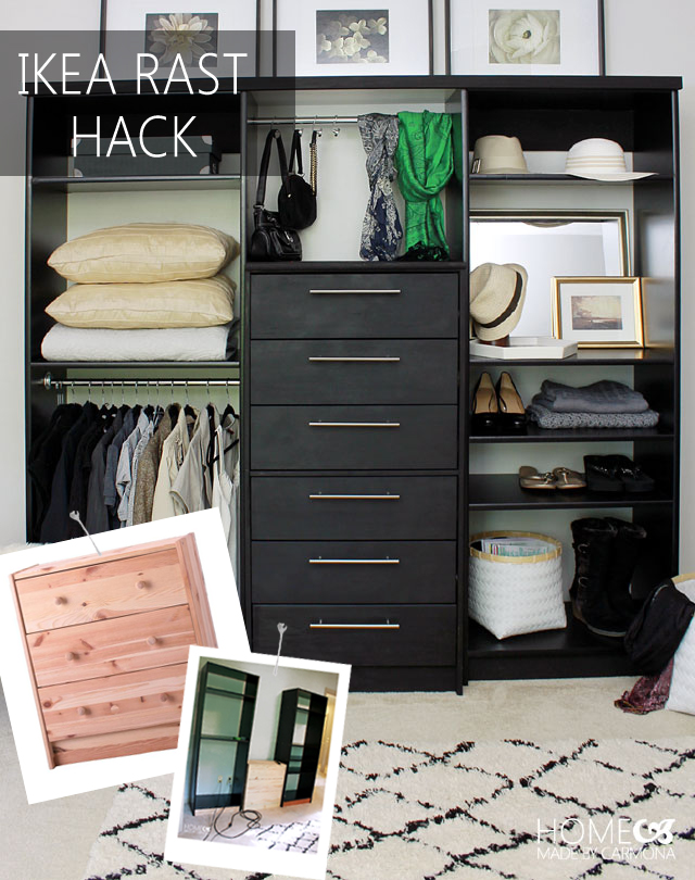 Remodelaholic 70 awesome ikea projects for Ikea diy closet
