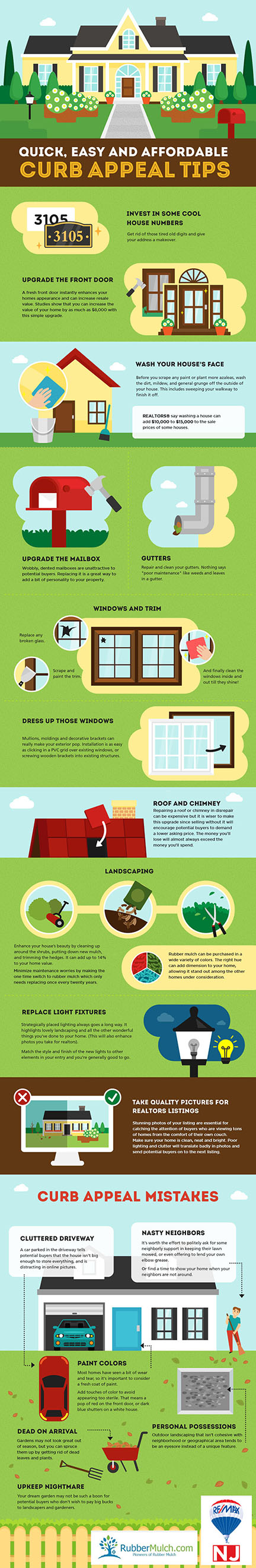 Remodelaholic quick easy diy curb appeal fixes - Home selling four diy tricks to maximize the curb appeal ...