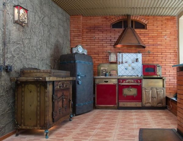 funky steampunk kitchen appliances