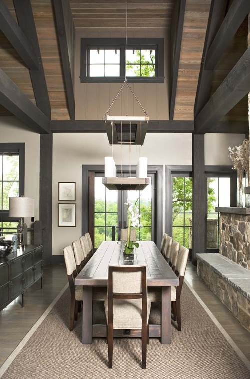 paint colors for wood floors and trim sandy hook gray benjamin moore - Dining Room Paint Colors Dark Wood Trim