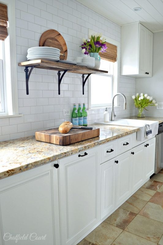White Kitchen Remodel Best Project Back Bay Farmhouse With White