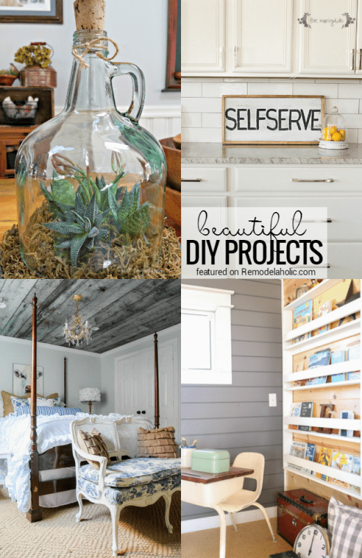 Beautiful DIY Projects That You Should Try @Remodelaholic