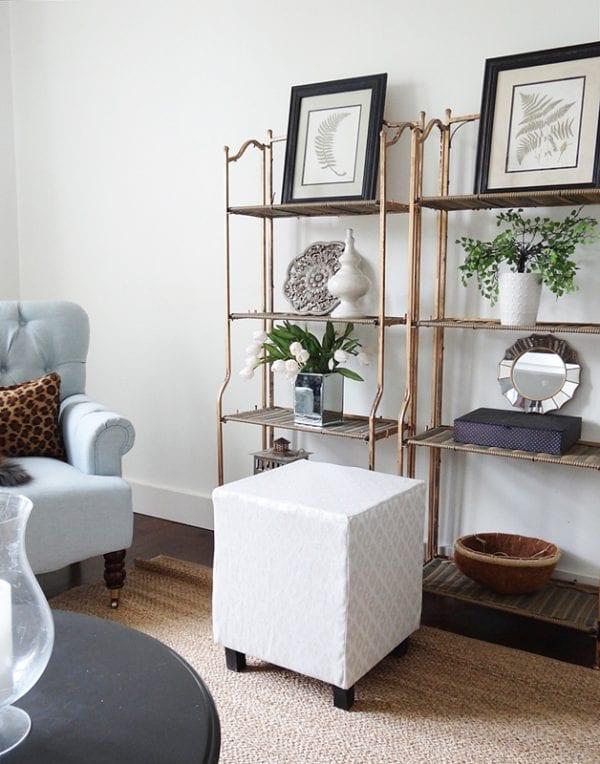 DIY Upholstered Ottoman Cube.jpg Living Room