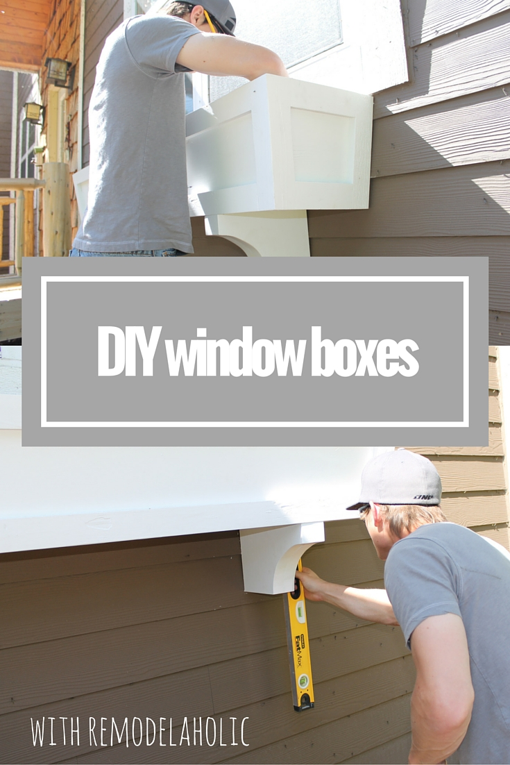 Remodelaholic how to build a window box planter in 5 steps for How to build box steps