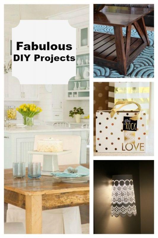 Fabulous DIY Projects 800 x 1200