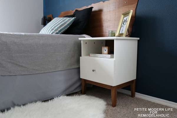 Ikea Tarva Nightstand Assembly ~ Lastly, just follow your Ikea instructions for assembly with the