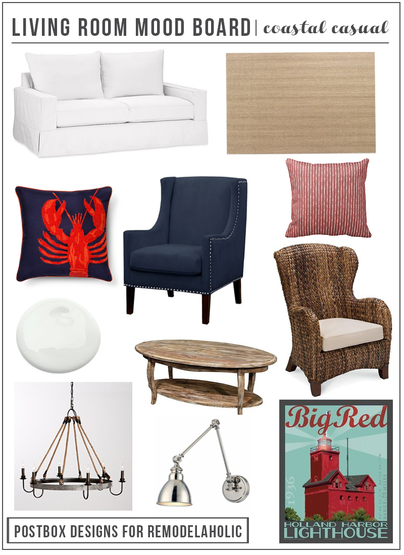 Create A Comfortable Coastal Casual Living Room With These Tips And Furniture Picks Plus Learn