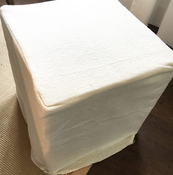 Patting for diy upholstered ottoman