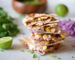 Chicken Taco Quesadillas