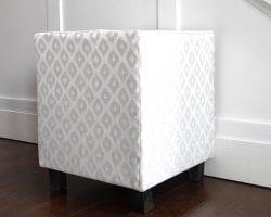 Upholstered Cube DIY