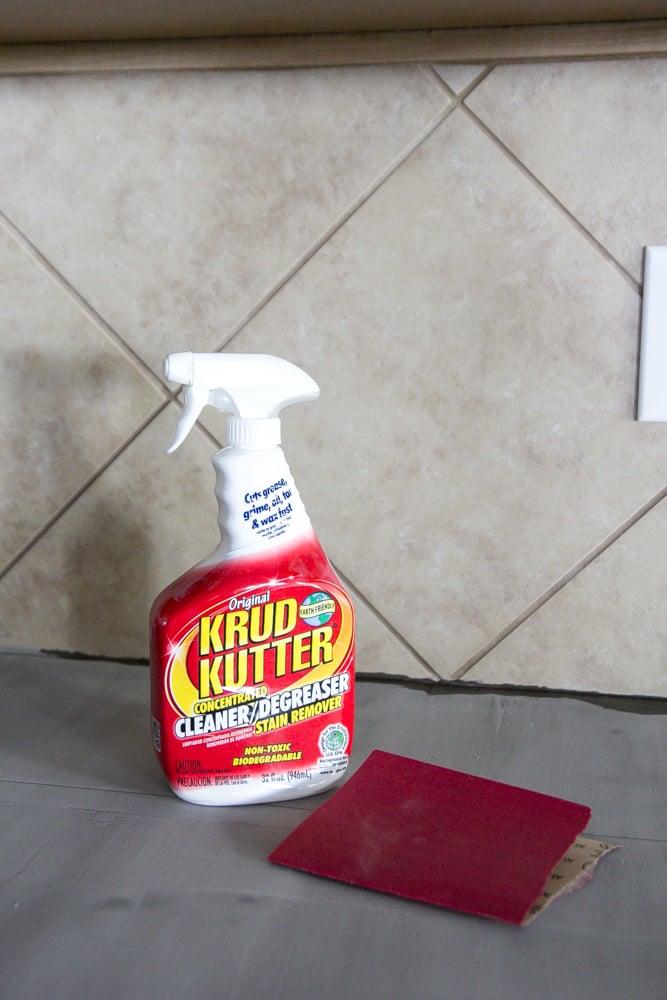 Whitewashed faux brick backsplash (3 of 18)