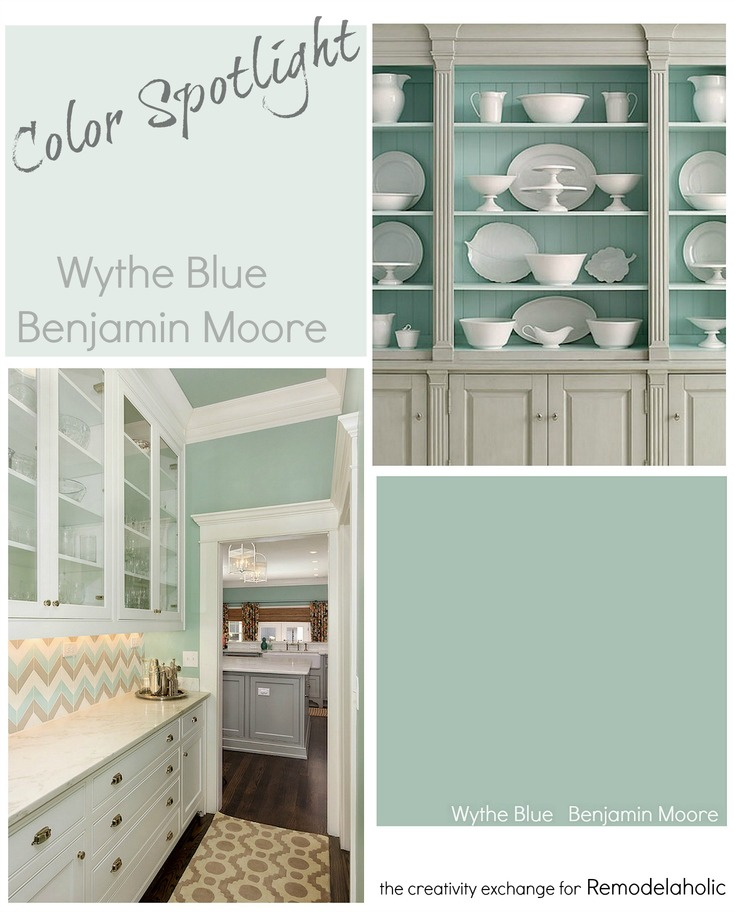 Wythe Blue Paint Sherwin Williams