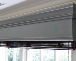 how to build and hang a window cornice feat