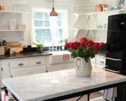 kitchen knotty pine feat