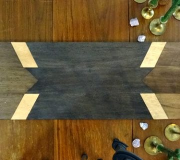 How to Make a Modern Balsa Wood Table Runner