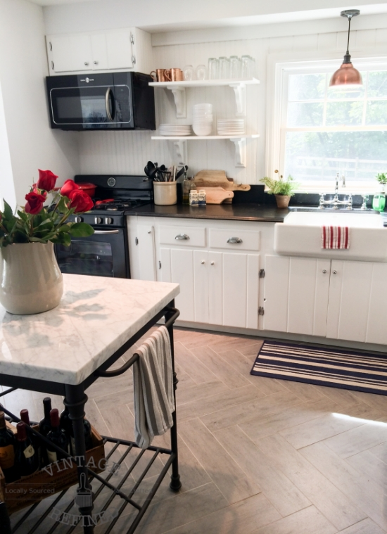 12-Herringbone-floors-in-white-kitchen-renovation-by-Vintage-Refined-featured-on-@Remodelaholic