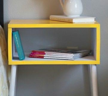 $15 Easy DIY Modern Side Table + Building Plan