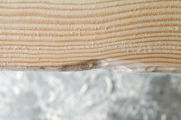 Making notches on a live edge table, DIY, by Windgate Lane featured on @Remodelaholic