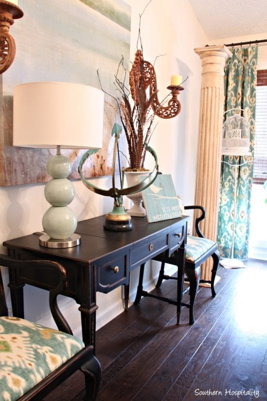 Remodelaholic Beautiful Green Entry Table Tips For