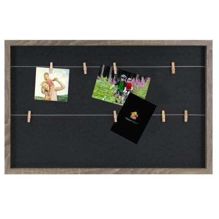 DesignOvation Wire Clothespin Picture Frame