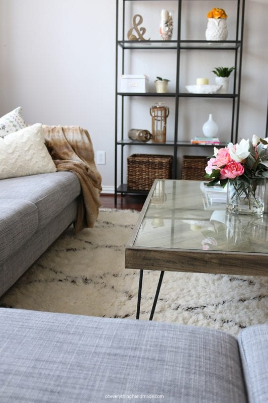 Herringbone-Hairpin-Coffee-Table-Oh Everything Handmade