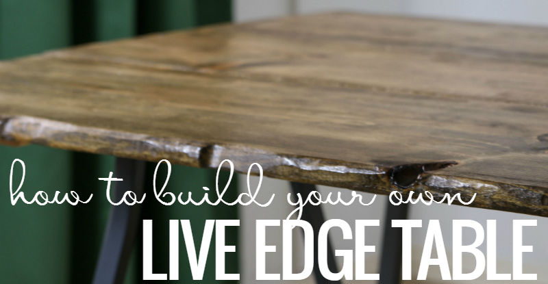 Remodelaholic Diy Live Edge Table Tutorial