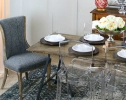How to build your own (faux) live edge table for about $80 @Remodelaholic feat