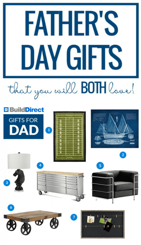 Interesting and Unique Father's Day Gift Ideas @Remodelaholic