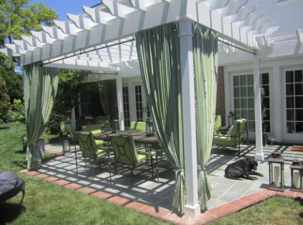 Remodelaholic Ideas for a Beautiful Backyard Pergola Makeover
