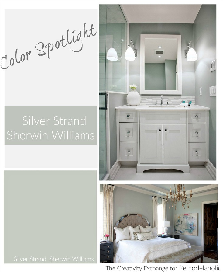 Remodelaholic Color Spotlight Silver Strand By Sherwin