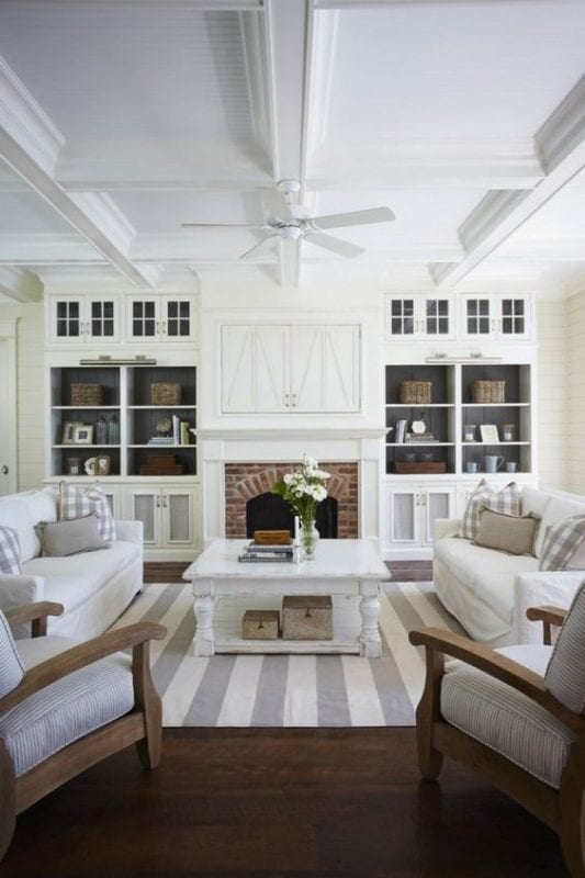 coastal casual living room, Mary Emmerling