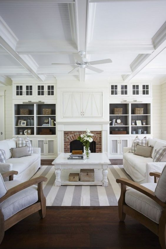 Remodelaholic | Coastal Casual Living Room Design Tips