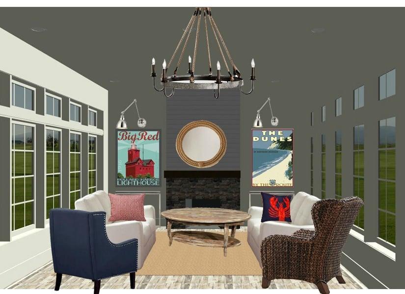 Remodelaholic Coastal Casual Living Room Design Tips