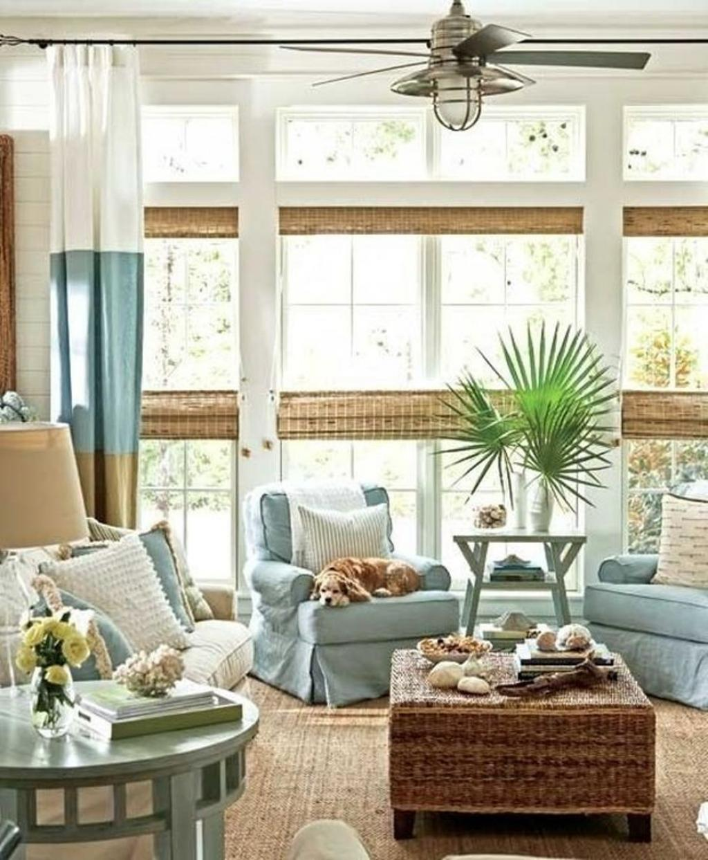 Coastal Casual Living Room Design Tips