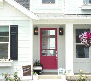 Friday Favorites: Pink Doors and Pergolas
