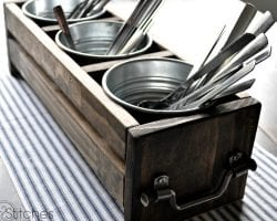 feat ways to use cheap ikea metal buckets @Remodelaholic