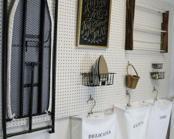 laundry room DIY-Peg-Board-Tutorial feat