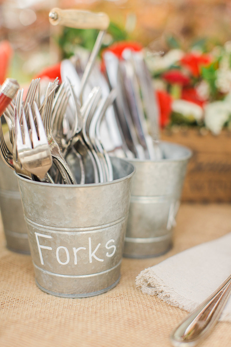Remodelaholic 15 ways to use ikea 39 s socker cheap metal for Table utensils